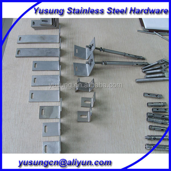 Stone facade fixing,stone cladding fixing system