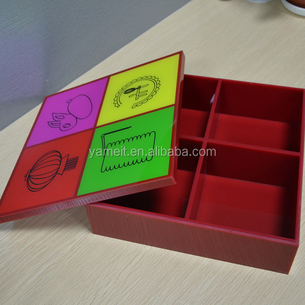 Acrylic box football shaped box factory cheaper price