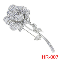 bridal jewelry rhinestone flower brooches pins corsage of beauty brooch