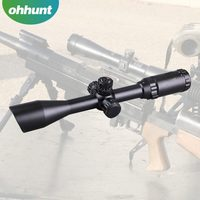 Angled Integral Sunshade KANDAR 3-9x40EG hunting riflescope air rifle with red/green illuminated reticle