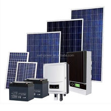 Hot sale !! promotion price High efficiency solar power energy system off grid 5KW solar panels system