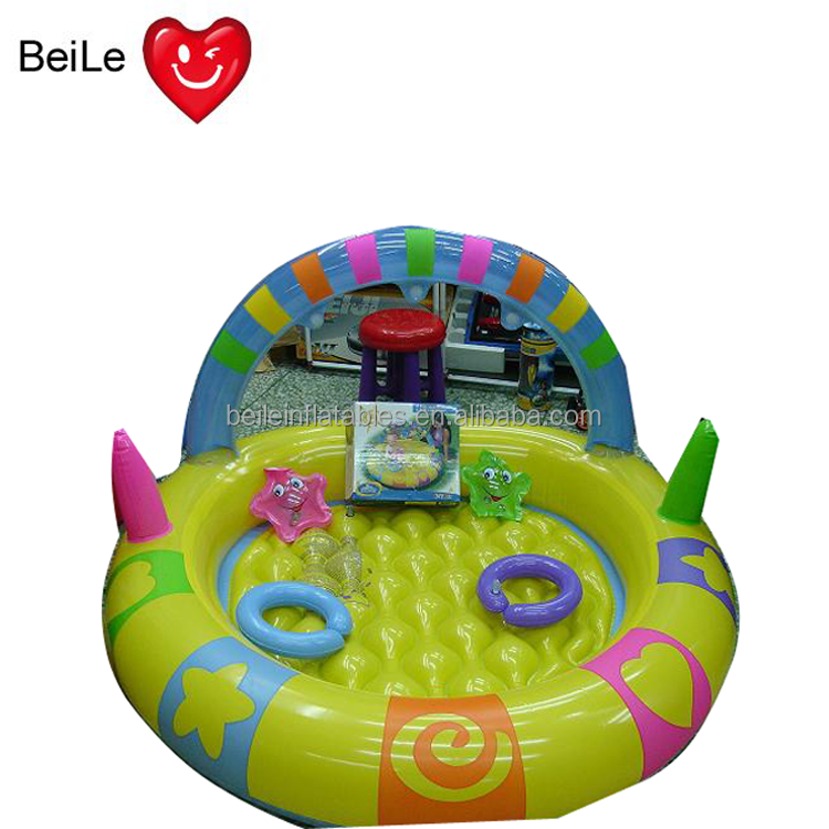Fashion factory green inflatable swimming pool Cartoon Baby Toy Inflatable Pool