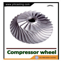 CNC Impeller For Engine Turbocharger Of