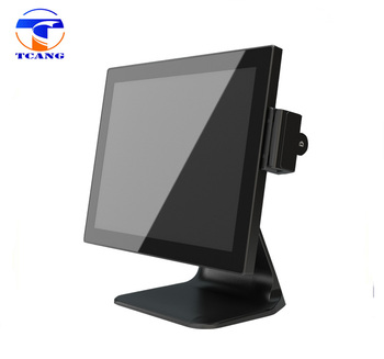 fashion ultra thin metal body dual touch screen android pos system for supermarket with 2 years warranty
