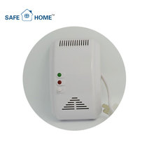 Kitchen Automation Ac220V Auto Detect Ch4 Gas LPG Sensor,Ce Certification Wall Mounted LPG Gas Leak Detector Alarm