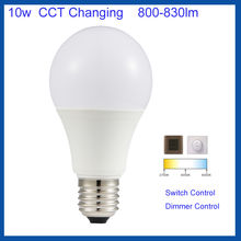 Foshan Factory 10W Dimable E27 led bulb color changing led bulb