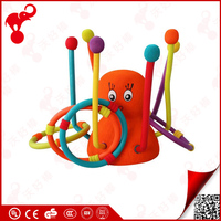 china top manufacturer outdoor children garden nbr foam animal toss plastic rings for baby toy