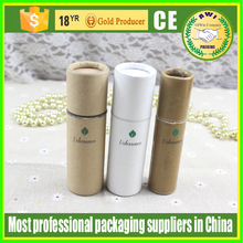 custom printed deoderant tube paper large cardboard cylinder tubes for perfume bottle use