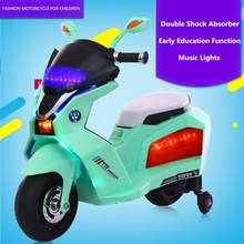 Electric battery operated child motorcycle for kids