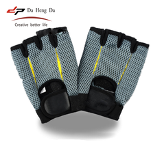 Men Women Sports Fitness Cycling Gym Half Finger Bicycle Glove