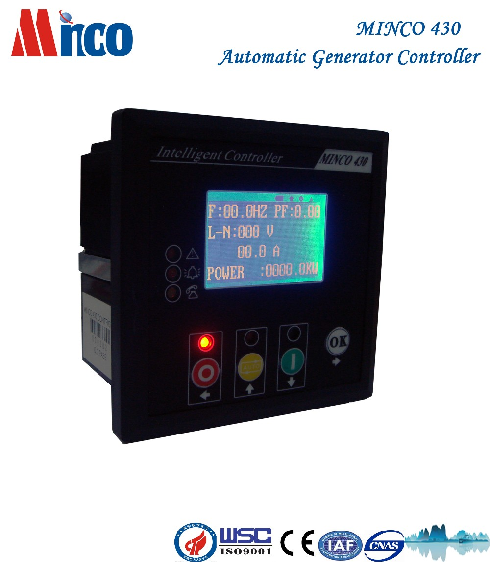 Minco 430 generator spare parts automatic smart genset controller