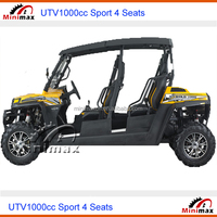 UTV 1000cc / 1100cc 4 seats EFI ECU EPS 2WD or 4WD 4x4 EPA DOT EEC COC approved
