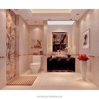 Home improvement building materials 300x600mm yellow matte / bathroom kitchen wall tiles 30 * 60cm tiles