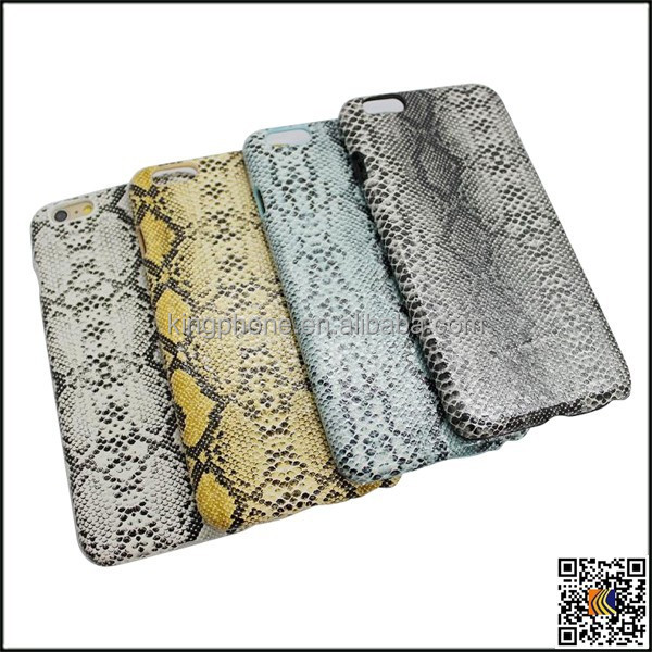 Imitation snakeskin pattern leather mobile phone case for iphonr 6G 6plus