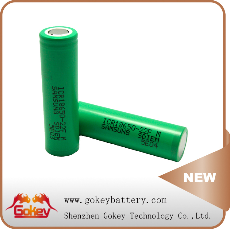 Samsung 22f 3.7v 2200mah lithium ion battery celL