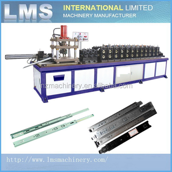 LMS installing drawer slide roll forming machine