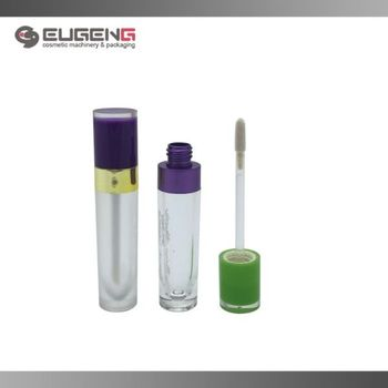 4ml round acylic lip gloss bottle