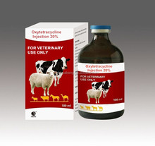 High Quality 20% Oxytetracycline Injection 100ml With Reasonable Price