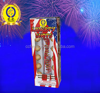 High quality small festival balls assorted Artillery Shells Fireworks for wholesale