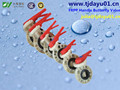 polypropylene (pp) irrigation water treatment butterfly valves factory supply