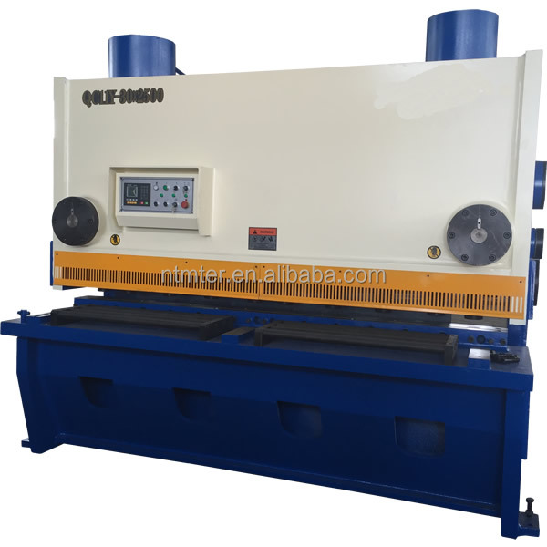 Aluminum sheet guillotine cutters shearing machine
