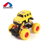 Best gift go-anywhere vehicle toy spring shock absorber alloy truck die cast car model for kids