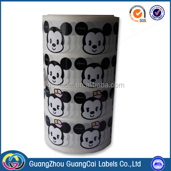 Guangzhou manufacture custom self-adhesive electronic paper label stickers
