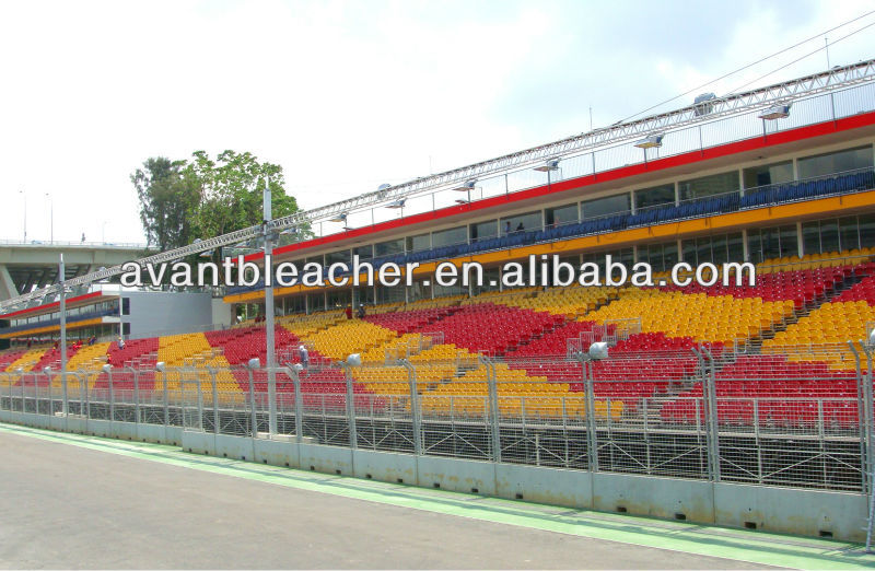 Manufactory Bleacher Portable stadium Folding Plastic Chair