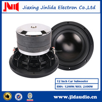 "12"" Best Sell Powered 2400W Power Speaker SPL Car Subwoofer"