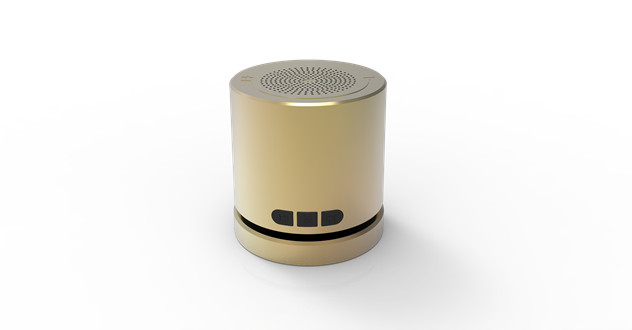 Private fashion design OEM wireless portable mini speaker with Rotary volume control function