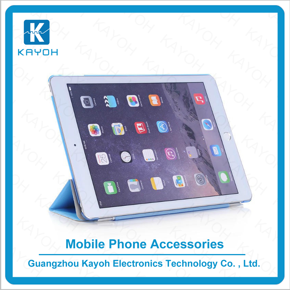 [kayoh] Factory sale holder case with good price for ipad air case pu leather case