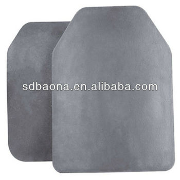 Silicon carbide ceramic bulletproof plate (SSIC/RBSIC)