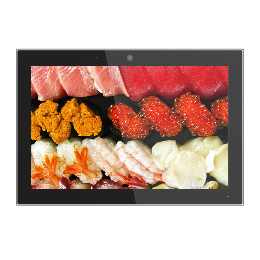 Kerchan 10 inch Octa core commercial use wall mount android tablet poe