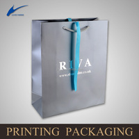 customized paper bag with ribbon