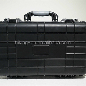 Plastic Military Equipment Case/ military rifle tool box with wheels HIKINGBOX HTC023-2