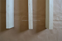 furniture part high quality raw wood bed slats full birch lvl