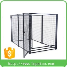 wholesale low price outdoor Custom logo galvanized modular 5ft dog kennel cage