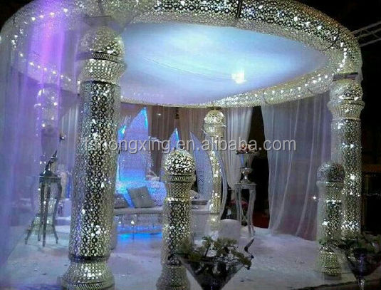 HX284 high quality wedding and party stage decoration background
