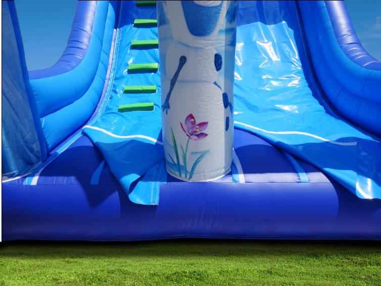 commercial best selling inflatable slide, inflatable frozen slide for kids and adults