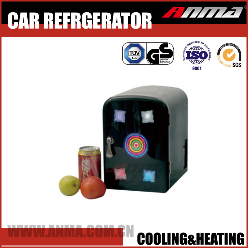 Portable car mini fridge 4L refrigerator 12V freezer electric beer beverage cooler