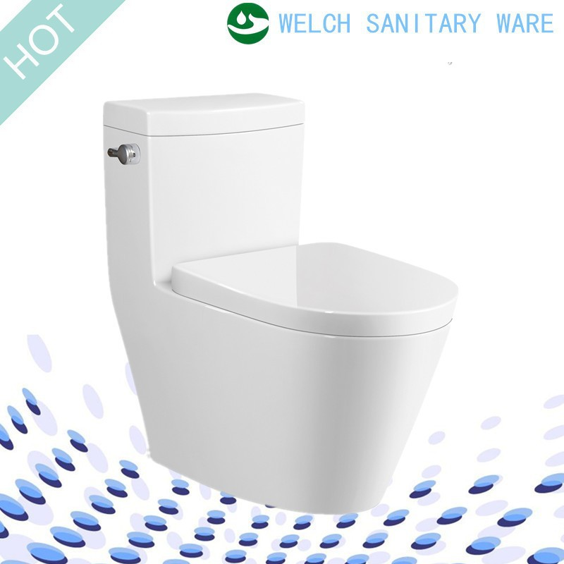 9205 Side Lever Single Flush one piece siphonic toilet closet bowl