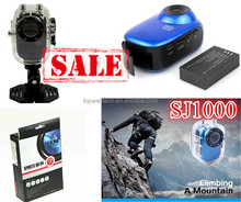 Hot sale SJ1000 30M Waterproof Full HD sports video camera with HD10 80P H.264 G-Senor Motorbike video camera extreme sports