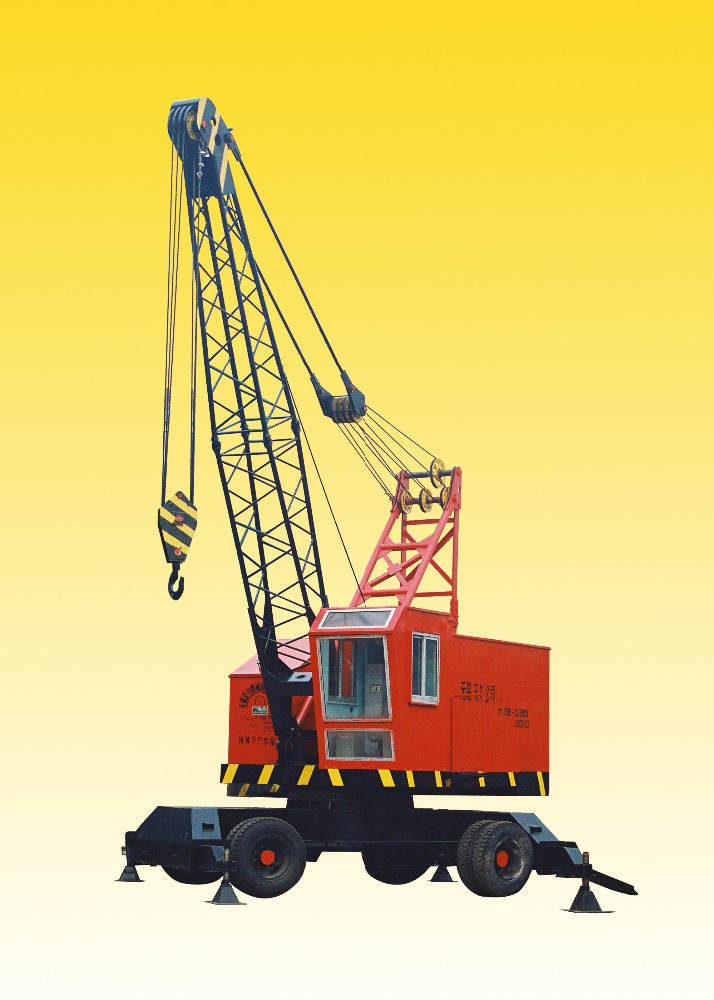 DLQ series electric tyre crane for port use