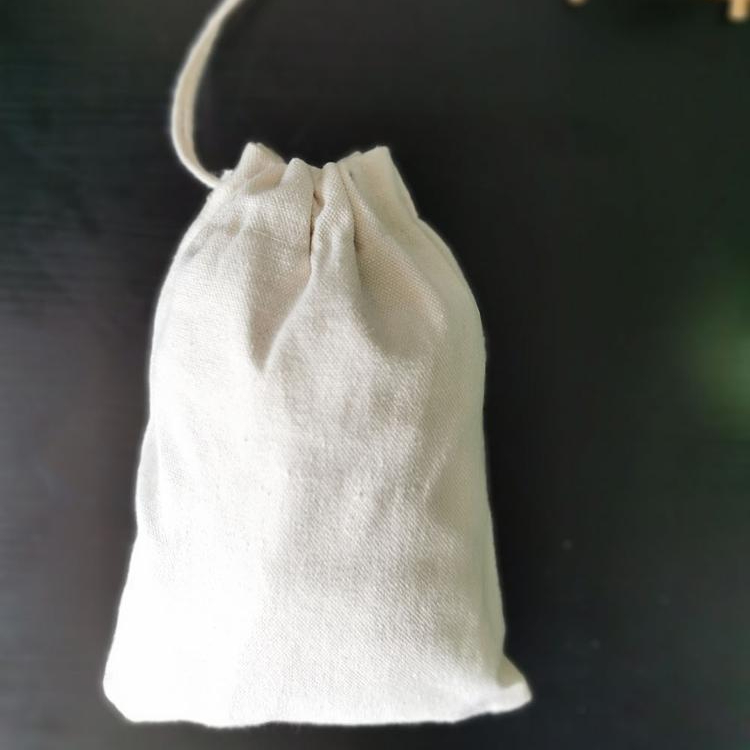 100 Percent Cotton Muslin Drawstring Bags For Storage Pantry Gifts