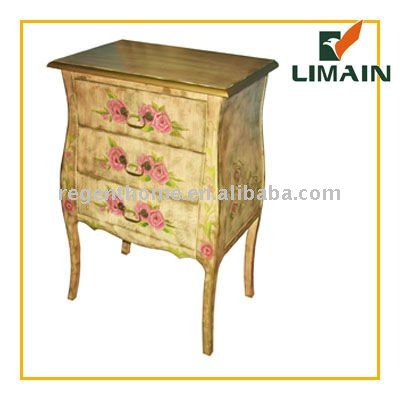 2011 Classic wooden hand painted wooden furniture