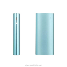 Low cost aluminium alloy Lithium 18650 battery cell blue rohs power bank 8800mah