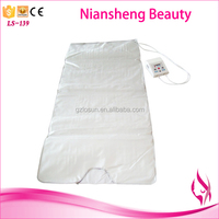 2015 portable spa heated far infrared thermal slimming blanket for losing weight