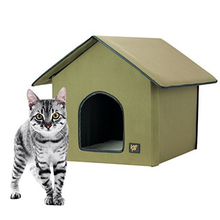 Heated Cat and Dog House For Outdoor & Indoor