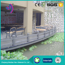 Environmental friendly Waterproof wpc cheap deck railing