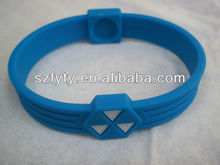 Silicon Rubber Bracelets Ion bands